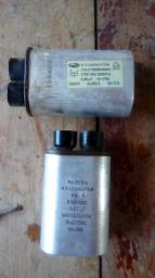 Capacitor para microondas usado com garantia