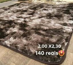 2,00 X2, 30 Tapetes Pelo Alto Várias Cores Confira
