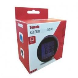 Relógio Termo Higrômetro Temperatura E Umidade Pd-007 Tomate Frete Grátis Garantia