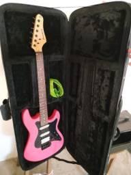 Guitarra Strimberg strato com case