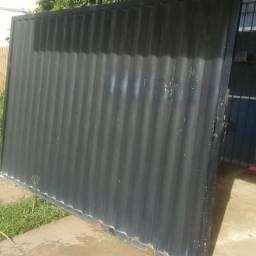 Portão de metalon 600$
