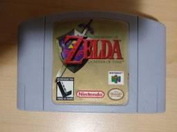 Cartucho The Legend of Zelda Ocarina of Time Original Nintendo 64, usado comprar usado  São Paulo