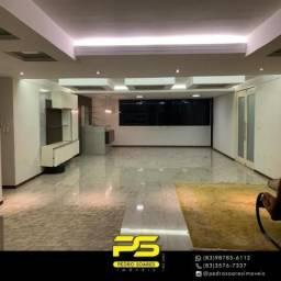 Apartamento com 4 dormitórios à venda, 300 m² por R$ 1.700.000 - Miramar - João Pessoa/PB