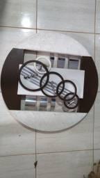 Quadro Decorativo 3D Circular