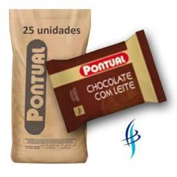 Fardo Achocolatado em Pó 400g Pontual BorgesGrupo.com.br
