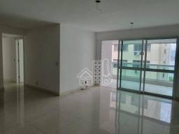 Apartamento com 4 dormitórios para alugar, 159 m² por R$ 5.800,00/mês - Icaraí - Niterói/R