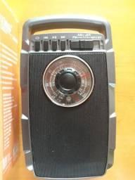 Rádio AM FM com Bluetooth USB