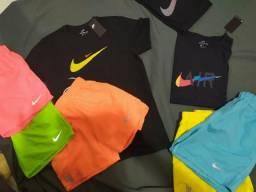 Kit Shorts + Camisa Nike