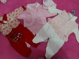 Roupa de bebê feminina