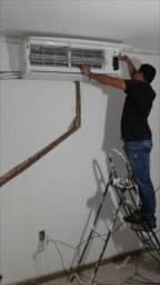 Instalador de ar condicionado Split
