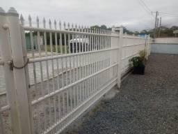 Vendo cerca de PVC já desmontada