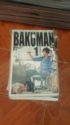 Bakuman mangá 01 ao 20(faltando vol 05 e 06)