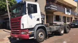 Scania G420 6x4A traçado cabininha