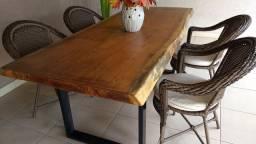 Mesas rusticas e semi rústicas