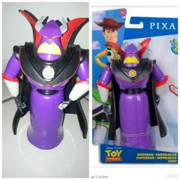 Imperador Zurg grande articulado toy Story Mattel
