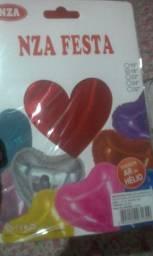 Balões metalizados e latex