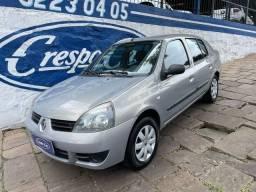 Título do anúncio: Clio Sedan 1.0 Expression 2009 Placa i