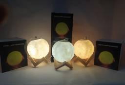 Lâmpada Umidificador em formato de lua