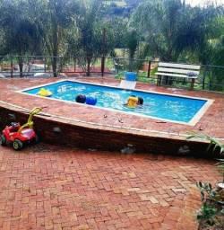 Js- Promoção piscina de fibra 5,60x2,90x1,10*direto de fabrica *brind led azul**
