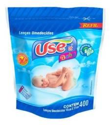 Lenços umedecidos use it baby refil 400unidades