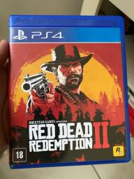 Jogos PS4 - RedDead2 e PES21