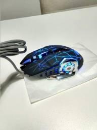 Mouse Gamer Ergonômico K-Snake Q5 6 Botões
