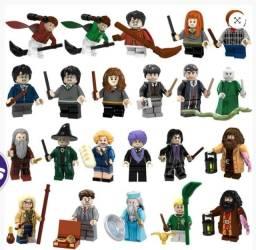 3 minifiguras do filme Harry Potter - 20 personagens diferentes
