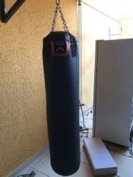Título do anúncio: Saco de pancada OUTSHOCK 40kg 150cm + Mão Francesa de apoio