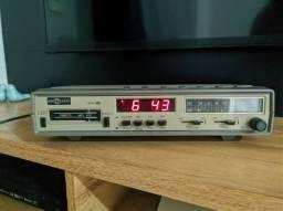 Rádio Relógio Motoradio Rcr-m22 Am, Fm, K7 - Funcionando