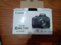 Título do anúncio: Camera fotográfica Rebel t100