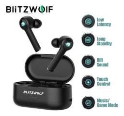 Título do anúncio: Fone de Ouvido Bluetooth BlitzWolf BW-FLB2 Gamer - Lacrado