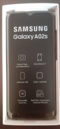 Samsung A02s novo na caixa