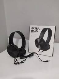 Fone de Ouvido Extra Bass - PROMOÇÃO