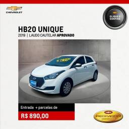 Título do anúncio: HYUNDAI HB20 1.0 UNIQUE 12V FLEX 4P MANUAL