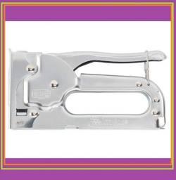 Grampeador Manual De Metal, Para Grampos Tipo 53, De 4-8 Mm Mtx