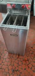 Título do anúncio: Fritadeira Elétrica 8000W Óleo Zona Fria FZ28 Croydon