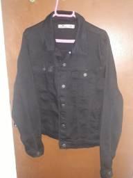Título do anúncio: jaqueta feminina preta tamanho G nova