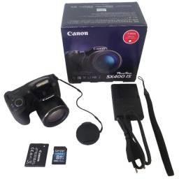 Câmera Digital Compacta Canon PowerShot SX400 IS 16MP Preto