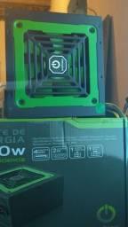 Título do anúncio: Fonte ATX 600w OnePower