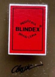 Box banheiro Blindex Fumê - ótimo estado