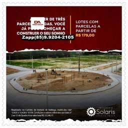 Título do anúncio: Solaris Loteamento %!!