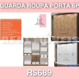 Guarda roupa Porto 6 portas guarda roupa Porto 6 portas 01929928