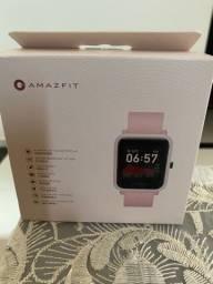 Relógio Amazfit Bip S GPS Novo Rosa