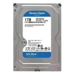 HD WD BLUE 1 Tb 7200 Rpm 64mb sata wd10 ezex-00wn4a0-westem digital