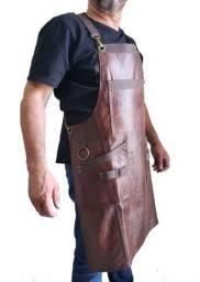 Avental Churrasqueiro couro legítimo