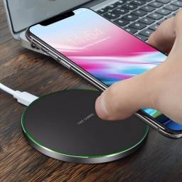 Carregador por Indução Para Iphone Samsung Galaxy