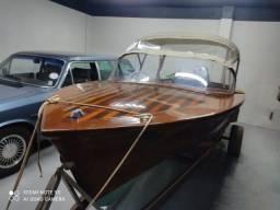 Título do anúncio: Lancha em madeira 1970 único dono motor novo