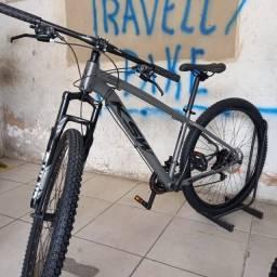 Título do anúncio: Bike KSW cinza - tamanho 15 - Nova