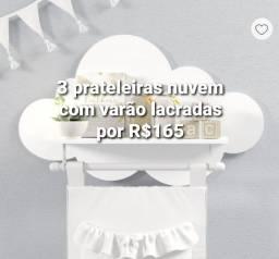 Título do anúncio: Prateleiras nuvem com varão