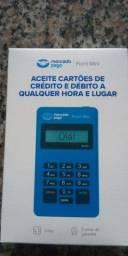 Título do anúncio: Maquininha de cartão de crédito e débito